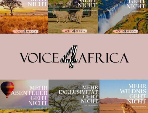 """VOICE4AFRICA Social Media Kampagne – """"Mehr geht nicht"""""""